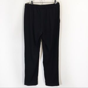 H&M Jogger High Waist Ankle Pants 8 Medium Black